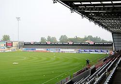 The Globe Arena - Mandatory byline: Neil Brookman/JMP - 07966 386802 - 03/10/2015 - FOOTBALL - Globe Arena - Morecambe, England - Morecambe FC v Bristol Rovers - Sky Bet League Two