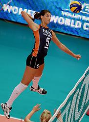 01-10-2014 ITA: World Championship Volleyball Servie - Nederland, Verona<br /> Robin de Kruijf