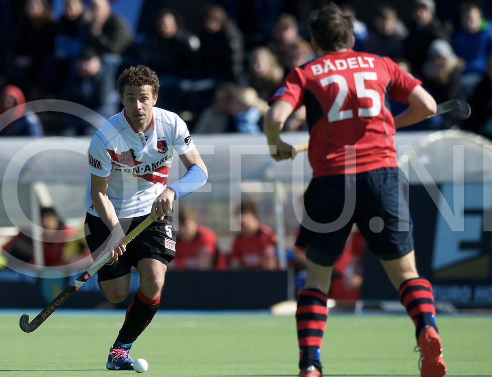 Amstelveen - Euro Hockey league KO16.Amsterdamse H&BC - Berliner HC.foto: Santi Freixa..FFU PRESS AGENCY COPYRIGHT FRANK UIJLENBROEK.