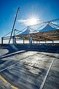 Bispebjerg Laboratorie og Logistikbygning, Nybyggeri, Sitecover, så byggeplads holdes tør uanset vejr, Bispebjerg Hospital, Aarsleff,