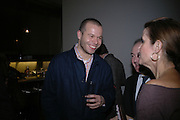 Wolfgang Tillmans. Ellsworth Kelly exhibition opening. Serpentine Gallery and afterwards at the River Cafe. London. 17 March 2006. ONE TIME USE ONLY - DO NOT ARCHIVE  © Copyright Photograph by Dafydd Jones 66 Stockwell Park Rd. London SW9 0DA Tel 020 7733 0108 www.dafjones.com