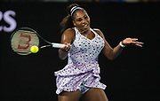 Serena Williams of the United States in action during her second round match at the 2020 Australian Open, WTA Grand Slam tennis tournament on January 22, 2020 at Melbourne Park in Melbourne, Australia - Photo Rob Prange / Spain ProSportsImages / DPPI / ProSportsImages / DPPI