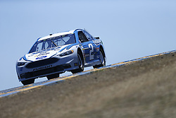 June 23, 2017 - Sonoma, CA, United States of America - June 23, 2017 - Sonoma, CA, USA: Brad Keselowski (2)  takes to the track to practice for the Toyota/Save Mart 350 at Sonoma Raceway in Sonoma, CA. (Credit Image: © Justin R. Noe Asp Inc/ASP via ZUMA Wire)