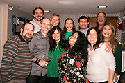 (First Row, L-R): Justin Nelson, Vinny, Jill, Rosa Sinegal, Rochelle Nelson, Maling Dorlandt, (2nd Row, L-R): Dustin Keen, Doug Leftin, Eliana Radparvar, Antonio Robles, and Stephan Dorlandt