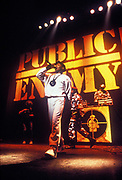 Public Enemy performance, U.K, 1990s.