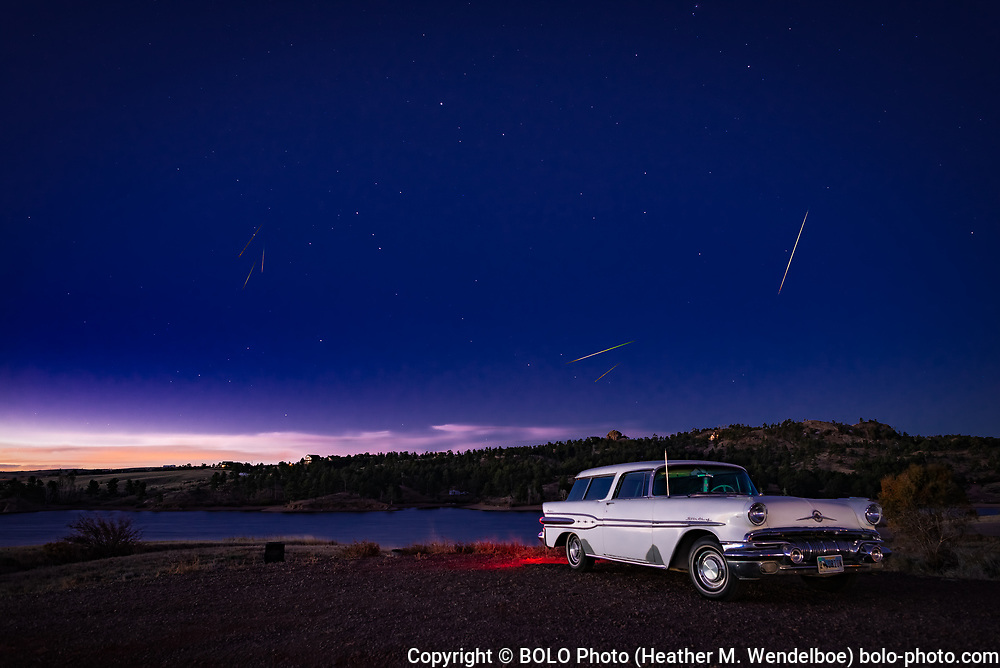Orionids Over Orion  <br />