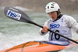 Ajda Novak of KKK Ljubljana competes in the Women's Kayak K-1 at kayak & canoe slalom race on May 9, 2010 in Tacen, Ljubljana, Slovenia. (Photo by Vid Ponikvar / Sportida)