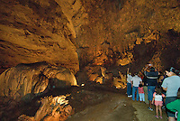 Inside Cueva Clara, tha park's main attraction