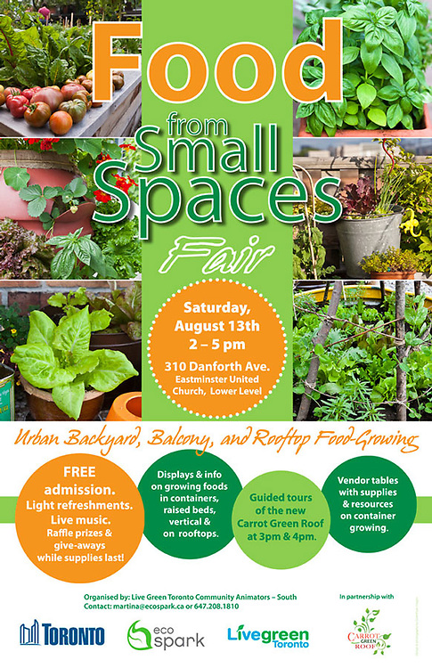 Food form Small Spaces poster