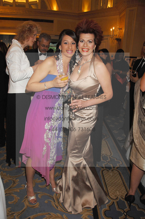 Left to right, PARAS GILL and CLEO ROCCOS at the Eastern Eye Asian Business Awards 2007 in the presence of HRH The Duke of York at the Hilton Park Lane, London on 8th May 2007.<br /><br />NON EXCLUSIVE - WORLD RIGHTS