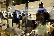 luxury articles department store window display Japan Tokyo
