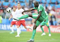 Alfred N'Diaye (Senegal)<br /> Moskau, 19.06.2018, FIFA Fussball WM 2018 in Russland, Vorrunde, Polen - Senegal 1:2