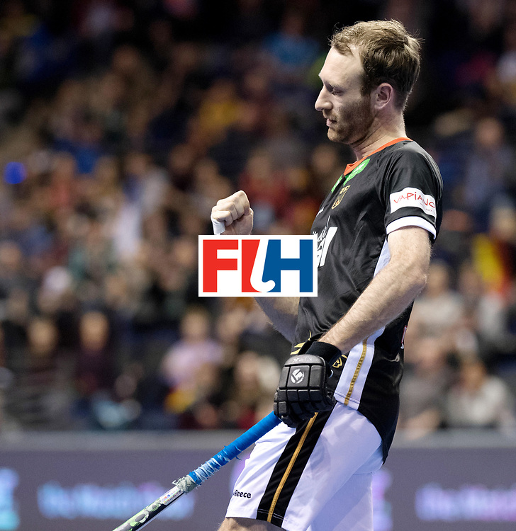 BERLIN - Indoor Hockey World Cup<br /> Men: Poland - Germany<br /> foto: Fabian Pehlke.<br /> WORLDSPORTPICS COPYRIGHT FRANK UIJLENBROEK