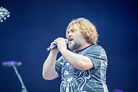 2019-06-06 | Norje, Sweden: Jack Black performing at Sweden Rock Festival ( Photo by: Roger Linde | Swe Press Photo )<br /> <br /> Keywords: Sweden Rock Festival, Norje, Festival, Music, SRF, Tenacious D