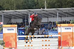 004 - First Class - Kalf Cristel (NED)<br /> 4 Jarige Finale Springen<br /> KWPN Paardendagen - Ermelo 2014<br /> © Dirk Caremans