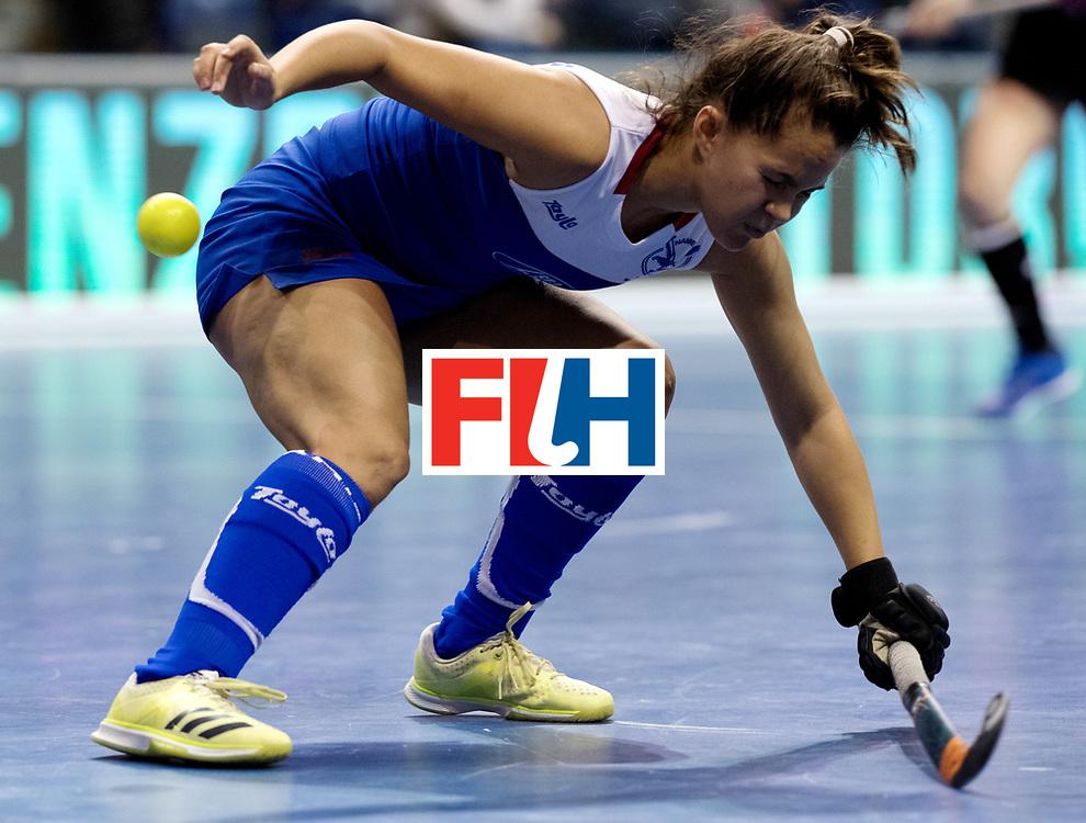 BERLIN - Indoor Hockey World Cup<br /> Women: Germany - Namibia<br /> foto: Franzisca Hauke.<br /> WORLDSPORTPICS COPYRIGHT FRANK UIJLENBROEK
