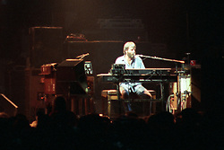 """Brent Midland performing with The Grateful Dead Live at The Hampton Coliseum on 9 October 1989. One of the Eleven images included in the CD boxed set release, """"Formerly The Warlocks"""". Can be purchased individually or as part of a special limited set of all 11 in the package printed by the photographer. Choose in Cart."""