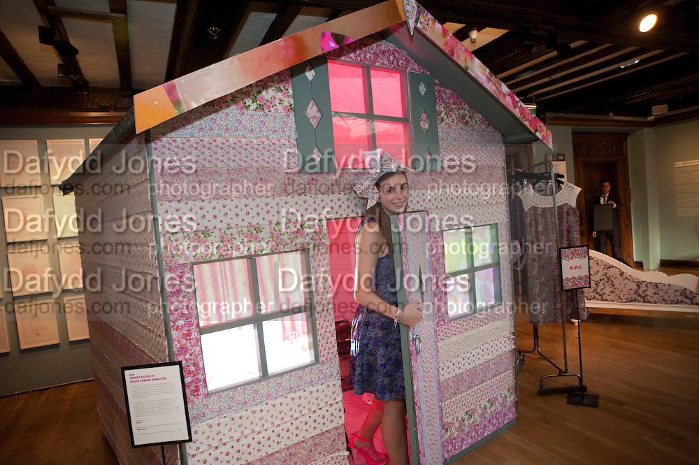 HELEN CARMEL BENIGSON IN HER WENDY HOUSE. , Prints Charming Exhibition. Liberty's. London. 11 August 2009