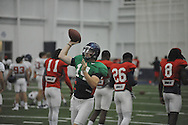 Ole Miss' Bo Wallace (14) at football practice at the Manning Center, in Oxford, Miss. on Monday, August 18, 2014.