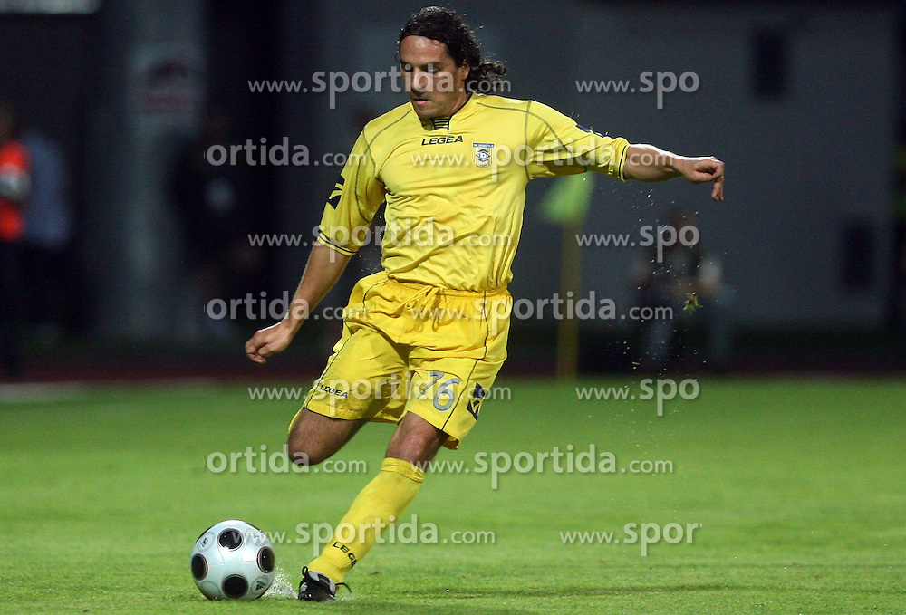 Danijel Brezic  (76) of Domzale at 1st football game of 2nd Qualifying Round for UEFA Champions league between NK Domzale vs HNK Dinamo Zagreb, on July 30, 2008, in Domzale, Slovenia. Dinamo won 3:0. (Photo by Vid Ponikvar / Sportal Images)