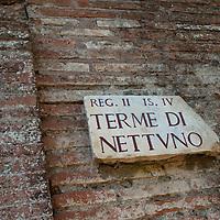 The splendid site of enormous archeological interest: imperial Rome's mercantile harbour of Ostia along the Tiber river  made the settlement so prosperous.