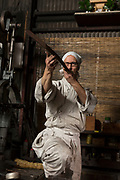 Yasha Yukawa, swordsmith in Hofu, Yamaguchi Prefekture, Japan<br />