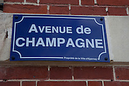 'rue de champagne' were all famous campagne-companies are located