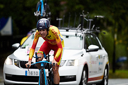 Gloria Rodriguez (ESP) at UCI Road World Championships 2019 Elite Women's TT a 30.3 km individual time trial from Ripon to Harrogate, United Kingdom on September 24, 2019. Photo by Sean Robinson/velofocus.com