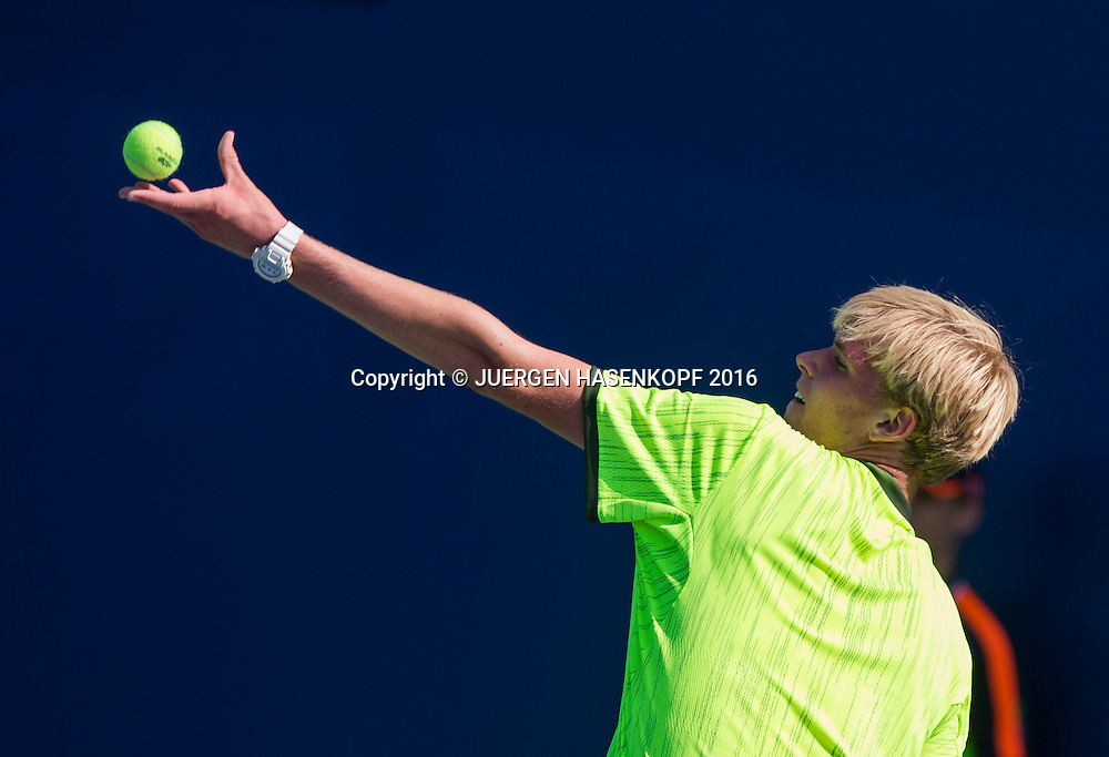 LOUIS WESSELS (GER) BS Junior Singles<br /> <br /> Tennis - US Open 2016 - Grand Slam ITF / ATP / WTA -  USTA Billie Jean King National Tennis Center - New York - New York - USA  - 4 September 2016.