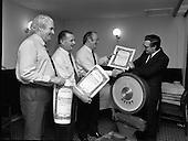 1985 - Weigh in at Dail Eireann,Leinster House.