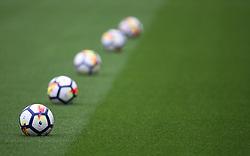 General view of warm up balls - Mandatory by-line: Jack Phillips/JMP - 22/04/2018 - FOOTBALL - Bet365 Stadium - Stoke-on-Trent, England - Stoke City v Burnley - English Premier League
