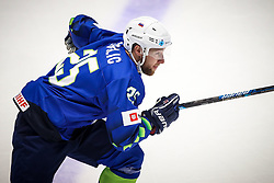 Robert Sabolic of Slovenia during ice hockey match between Slovenia and Lithuania at IIHF World Championship DIV. I Group A Kazakhstan 2019, on May 5, 2019 in Barys Arena, Nur-Sultan, Kazakhstan. Photo by Matic Klansek Velej / Sportida