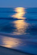 Moonlight, Two Mile Hollow Beach, East Hampton, NY