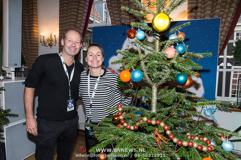 NLD/Amsterdam/20181206 - Sky Radio's Christmas Tree For Charity, Danny Blind en Minke Booij