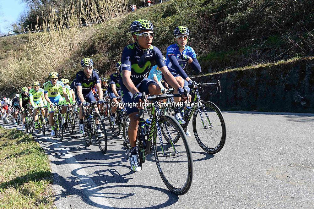 Quintana Rojas Nairo  - Movistar - 12.03.2015 - Etape 2 - Tirreno Adriatico<br />Photo : Sirotti / Icon Sport