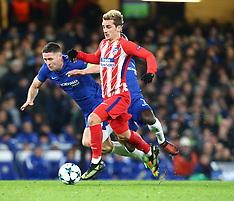 Chelsea v Atletico Madrid - 05 Dec 2017