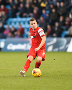 Dean Cox during the Sky Bet League 1 match between Gillingham and Leyton Orient at the MEMS Priestfield Stadium, Gillingham, England on 15 November 2014.