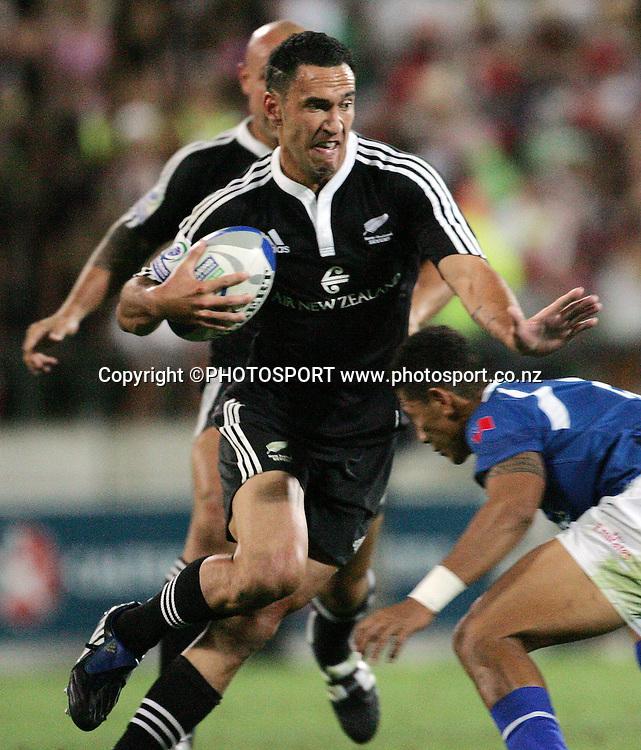 Zar Lawrence. NZI International Sevens Final day 2, New Zealand v Samoa, Westpac Stadium, Wellington. New Zealand, Saturday 2 February 2008. Photo: Renee McKay/PHOTOSPORT