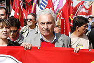 "Rome oct 17 2008 - Protest against Italian Government  proclaimed by labor union ""Cobas""."