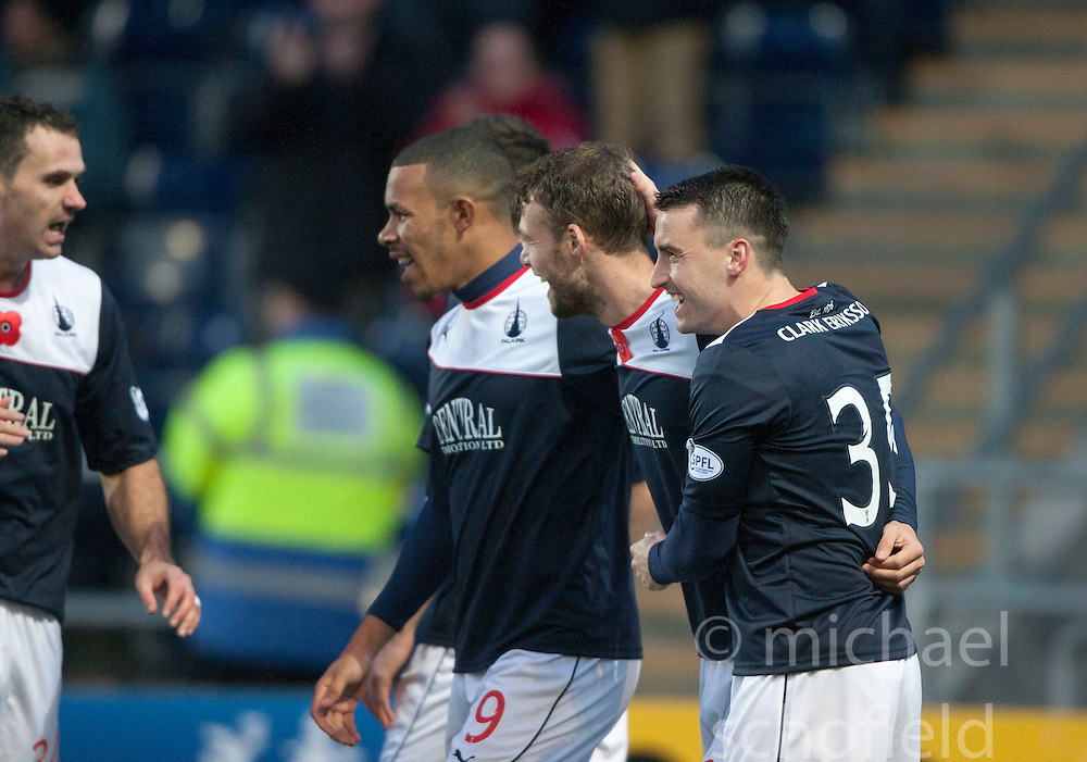 Falkirk 4 v 1 Livingston, Scottish Championship game played today at the Falkirk Stadium.<br /> &copy;Michael Schofield.