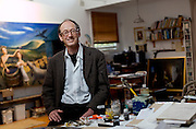 Artist Gary Shead at home in Bundeena, Sydney's southern suburbs.