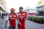 October 30-November 2 : United States Grand Prix 2014, Fernando Alonso (SPA), Ferrari, Marco Mattiacci, team principal of Scuderia Ferrari