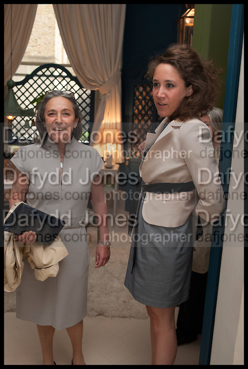 MADAME AND MRS. RAYNAUD, Nicky Haslam hosts a party to launch a book by  Maureen Footer 'George Stacey and the Creation of American Chic' . With a foreword by Mario Buatta. Kensington. London. 11 June 2014