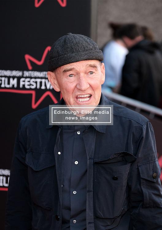 Edinburgh International Film Festival 2019<br /> <br /> Boyz In The Wood (European Premiere)<br /> <br /> Stars and guests arrive on the red carpet for the opening gala <br /> <br /> Pictured: David Hayman<br /> <br /> Alex Todd | Edinburgh Elite media