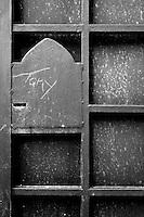 Serratura di porta in ferro