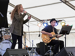 Saskia Eng performing at Party At The Palace Music Festival in Linlithgow Palace grounds on Sat 13th August 2016.<br /> <br /> <br /> Alan Rennie/ EEm