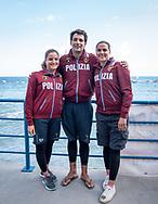 L To R<br /> Ilaria Raimondi ITA Edoardo Stochino ITA Martina Grimaldi ITA<br /> 52 a Capri - Napoli<br /> FINA Open Water Swimming Grand Prix 2017<br /> September 3rd, 2017 - 03-09-2017<br /> &copy;Chiara Perlino/Deepbluemedia/Inside foto