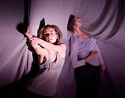 Plateau Effect <br /> Cullberg Ballet <br /> at Sadler's Wells, London, Great Britain <br /> press photocall<br /> 13th November 2014 <br /> <br /> choreography by Jefta van Dinther<br /> Eva Mohn<br /> Agnieszka Dlugoszewska<br /> <br /> <br /> <br /> Photograph by Elliott Franks <br /> Image licensed to Elliott Franks Photography Services