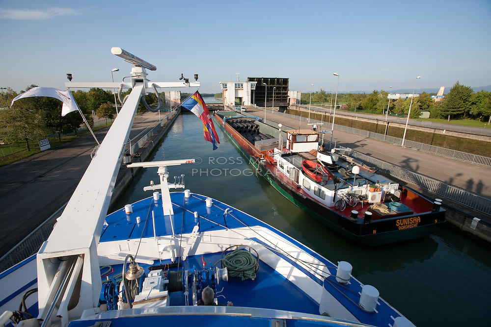 Rhine river cruising on the Viking Helvetia, August 2011.