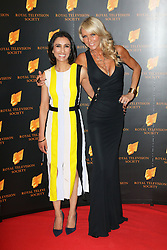 © Licensed to London News Pictures. 18/03/2014, UK. Anita Rani; Celia Sawyer, The Royal Television Society Programme Awards, Grosvenor House Hotel, London UK, 18 March 2014. Photo credit : Richard Goldschmidt/Piqtured/LNP